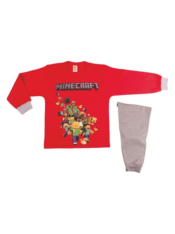 Πυζάμα Παιδική Αγόρι Minecraft