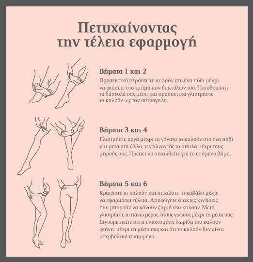 Οδηγίες για καλσόν