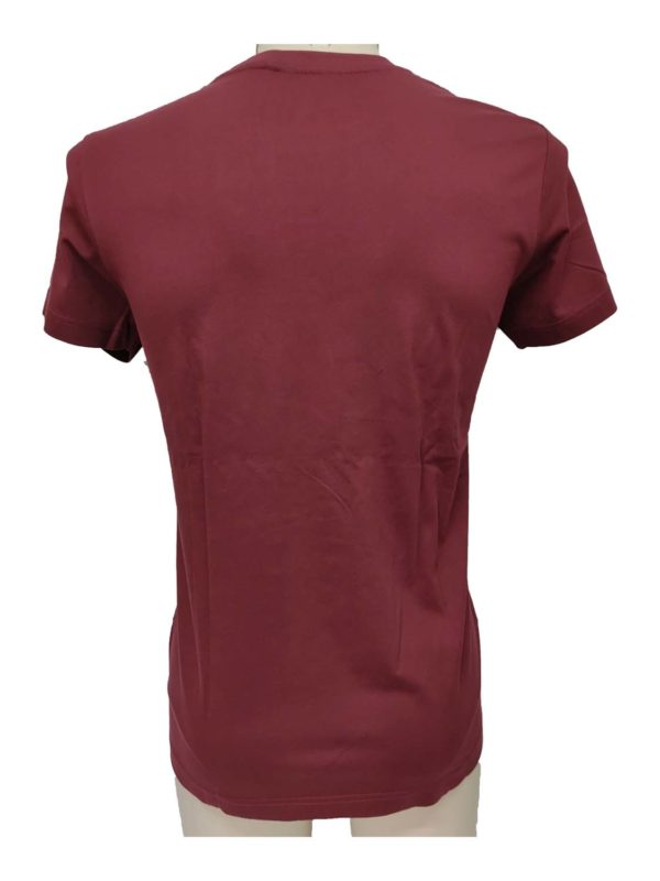 t-shirt ADM1121430004 bordeaux 2