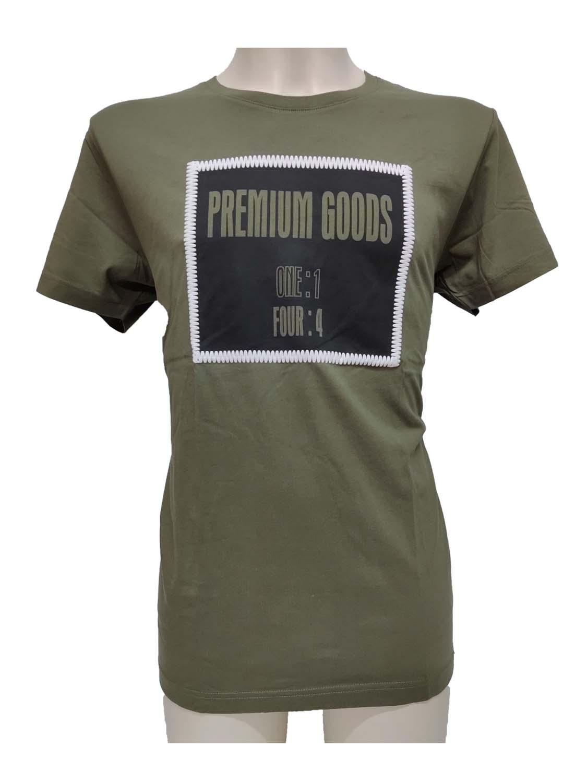 t-shirt ADM1121430004 khaki 1