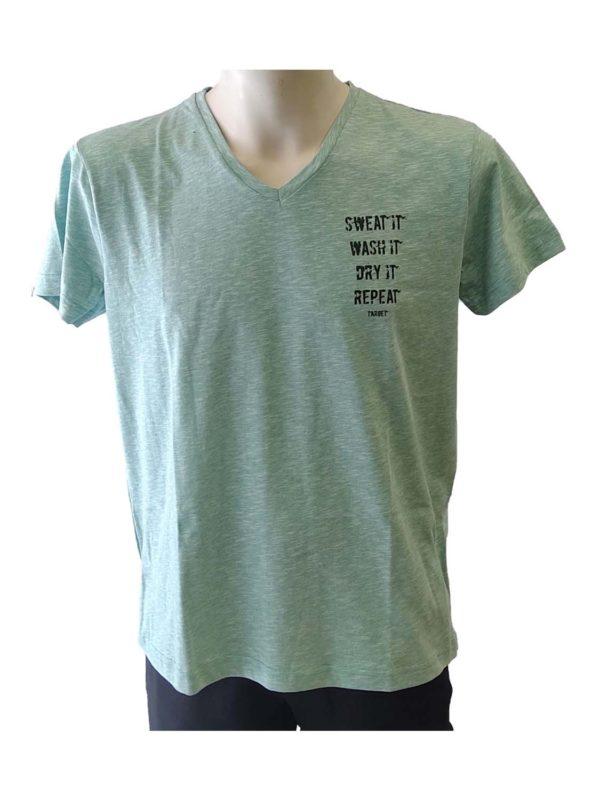 t-shirt target s20-56418 menta melanze 1