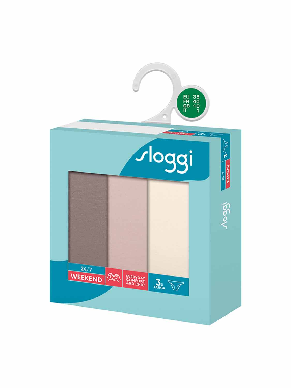 slip SLOGGI WEEKEND TANGA M002 S9 C3P BOX