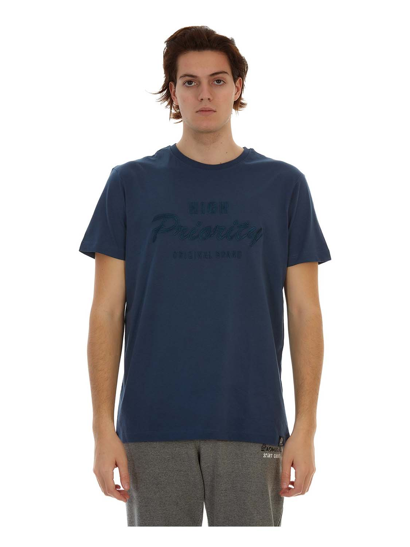 t-shirt ADM SPID denim