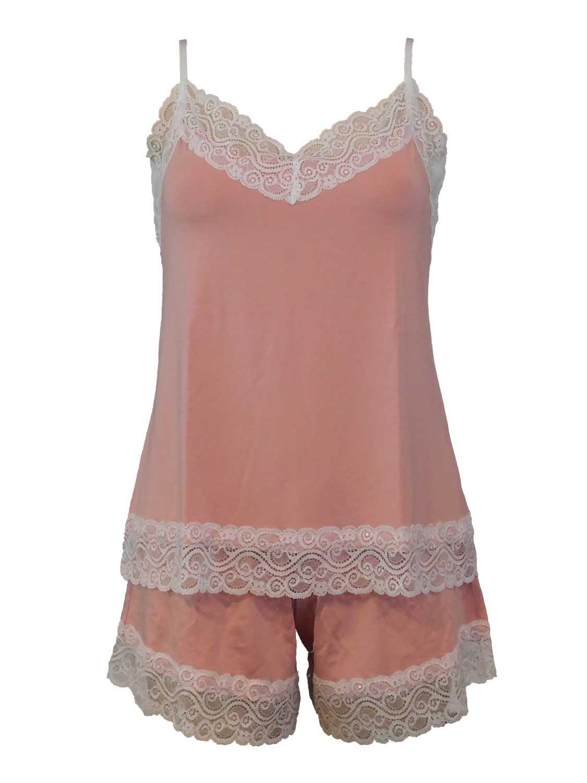babydoll 520-σετ ροζ 1