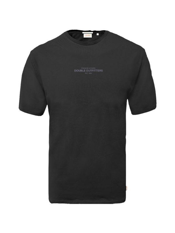 t-shirt DBL TS-170B mavro